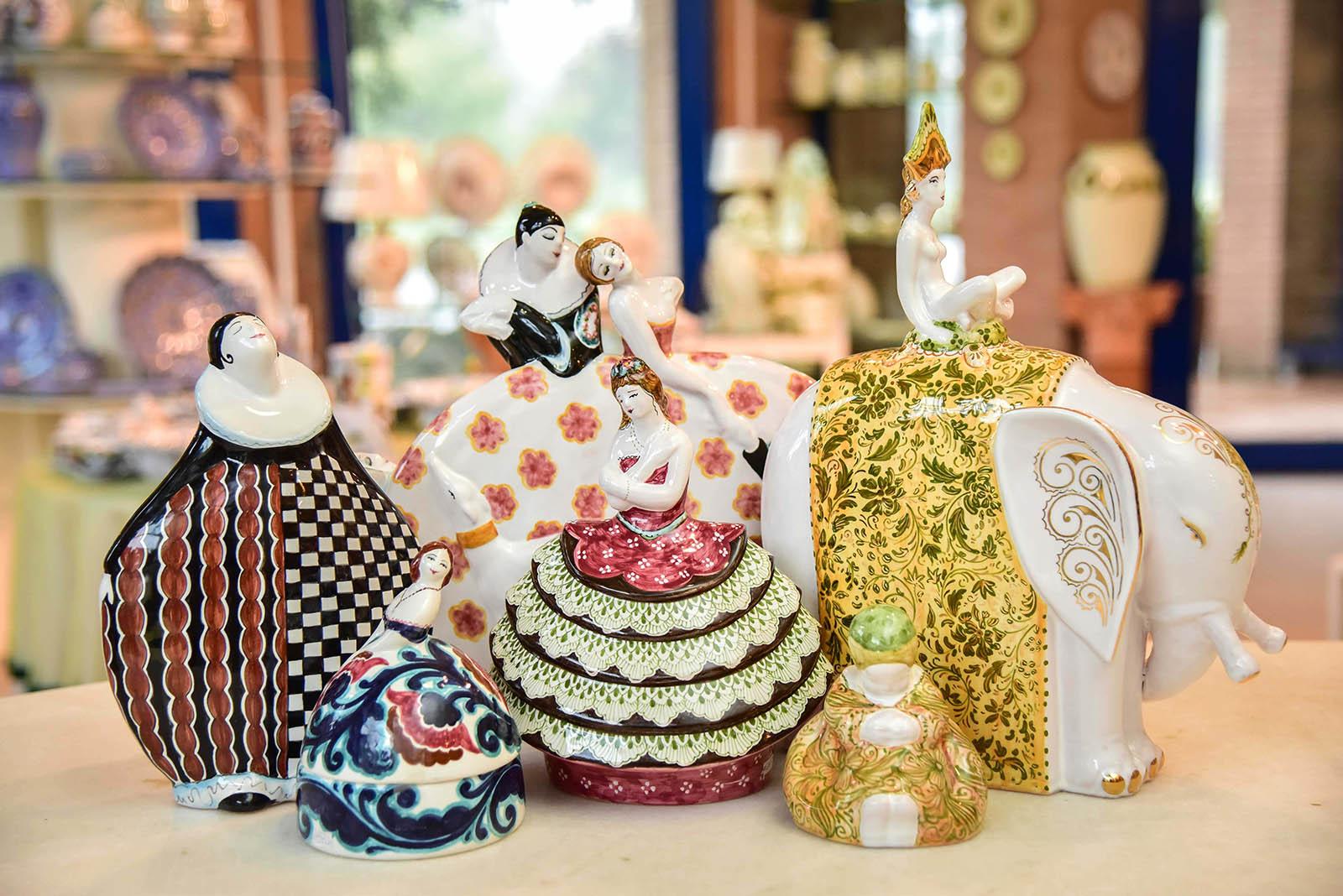 Ceramiche artistiche: collezione Damine