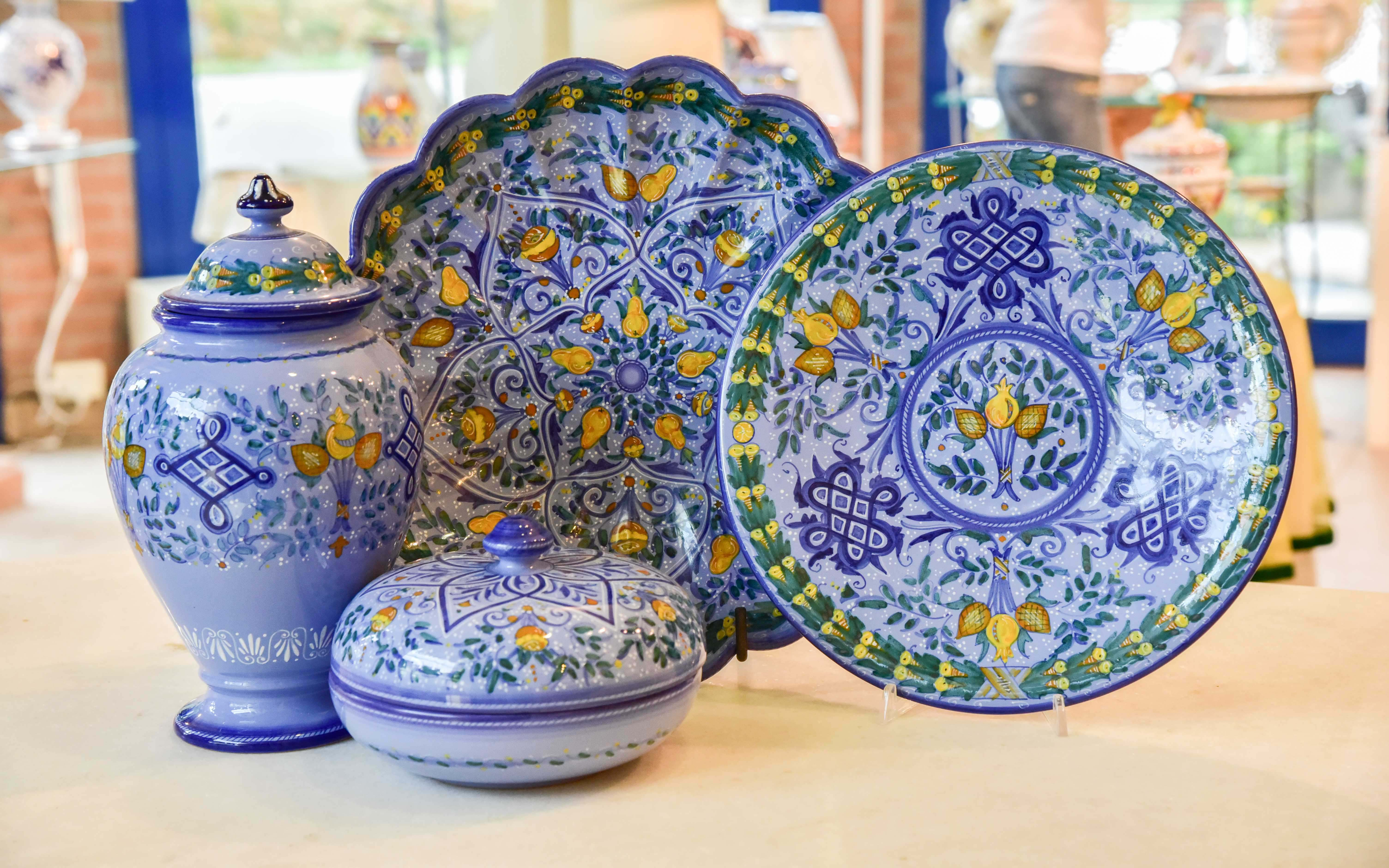 Ceramica Faenza Berettino