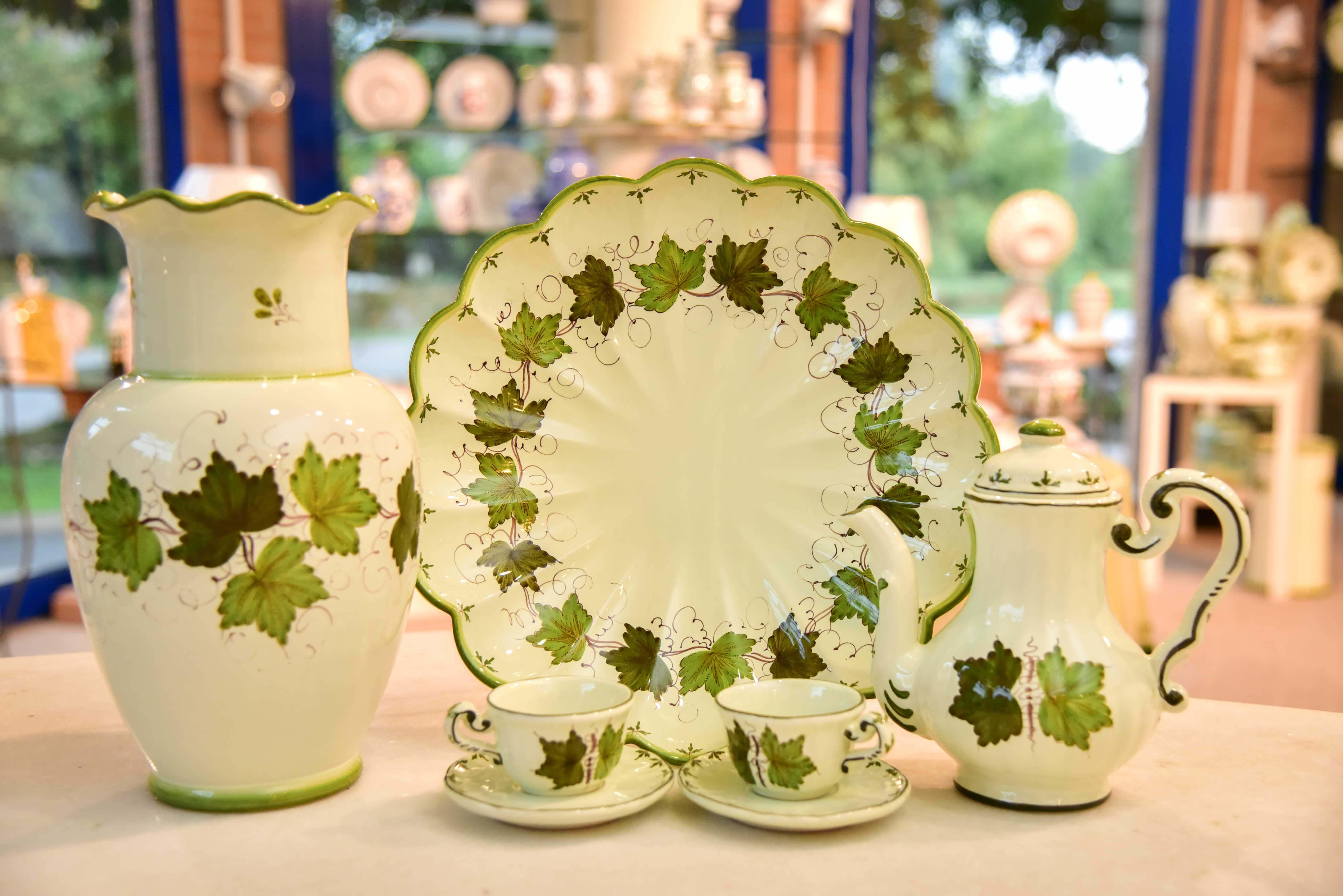 Ceramiche Faenza: Foglia di Vite 1790