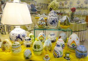 Buona Pasqua ceramica faenza uova