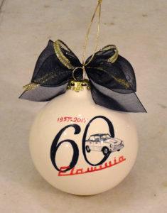 Pallina di Natale per i 60 anni della Lancia Flaminia