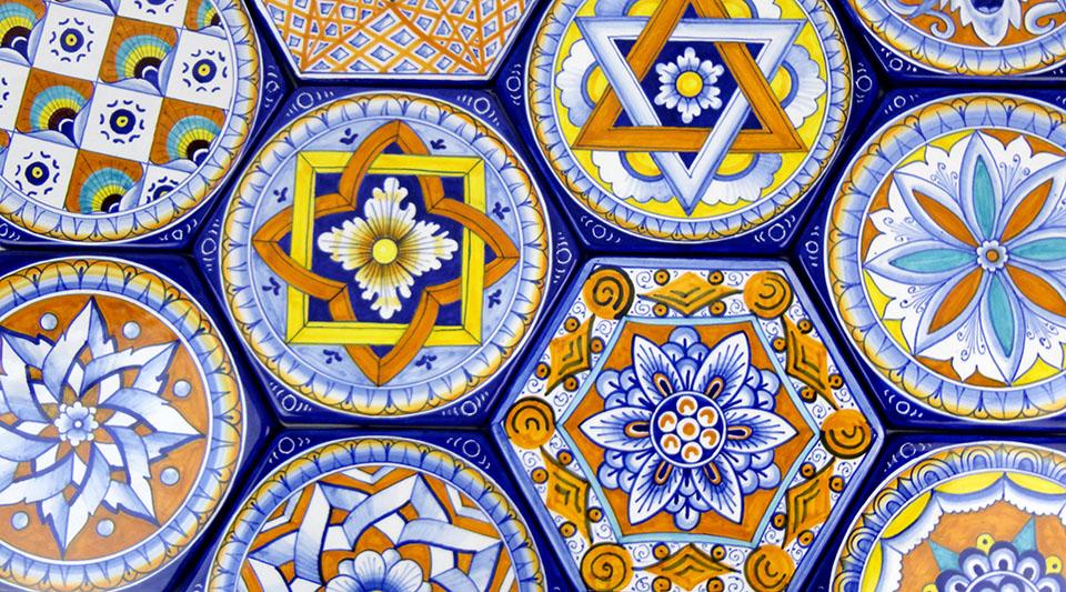 La ceramica di faenza for Maioliche piastrelle