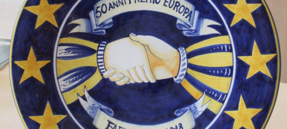 Piatto riconoscimento Premio Europa